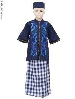 BML1213 (10-12) Baju Koko Anak Celana Sarung