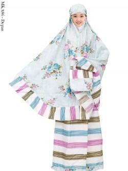 MKA86 Mukena Anak Katun Jepang 5-12th