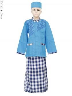 BML1214 (4-6) Baju Koko Anak Celana Sarung