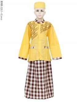 BML1215 (7-12) Baju Koko Anak Celana Sarung