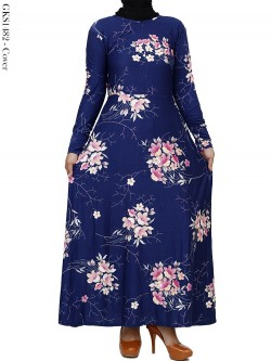 GKS1482 Gamis Jersey Misby Motif