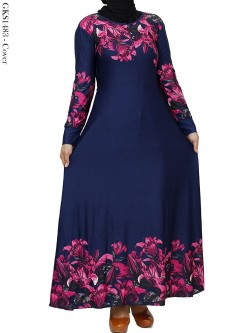 GKS1483 Gamis Jersey Misby Motif