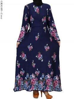 GKS1489 Gamis Jersey Misby Motif