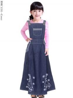 BMC1531 Overall Jeans Anak Karakter