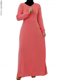 GKS1493 Gamis Jersey Polos