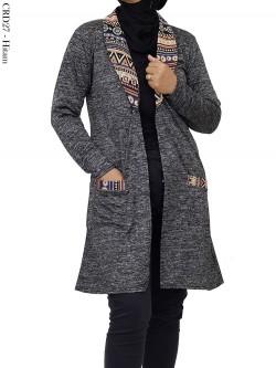 CRD27 Tunik Cardi Kaos Kerah Batik