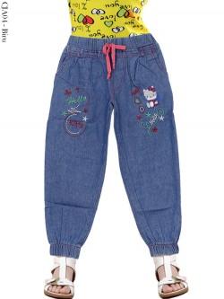 CJA04 Celana Jogger Jeans Anak HelloKitty