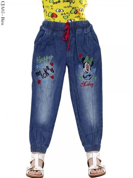 CJA05 Celana Jogger Jeans Anak Mickymouse