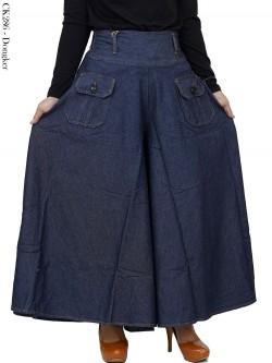 CK286 Celana Kulot rok jeans