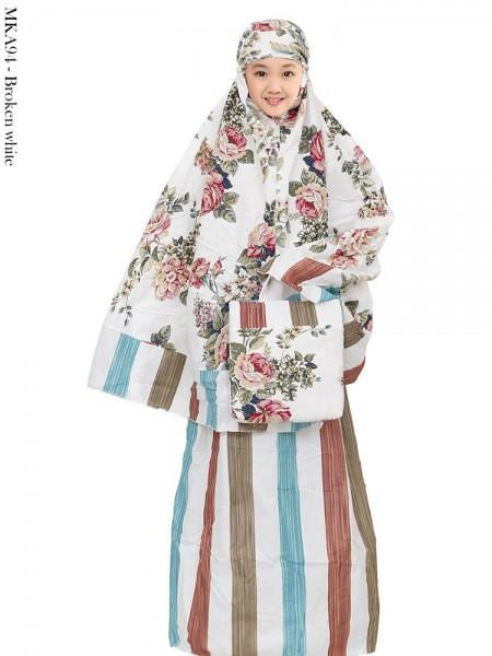 MKA94 Mukena Anak Katun Jepang
