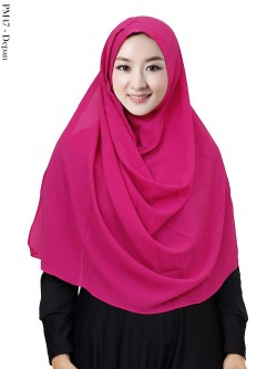 PM47 Pashmina Instan Bubble