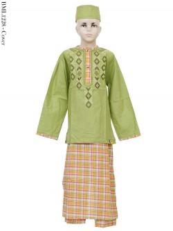 BML1228 (4-6) Baju koko Anak Celana Sarung