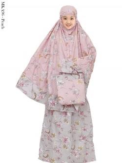 MKA96 Mukena Anak Katun Jepang Batik