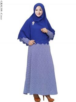 GKS1508 Gamis Syari Misby Hijab Bubble Press