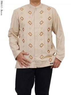 BK615 Baju Koko Albatar Lengan Panjang Bordir