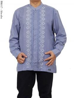 BK617 Baju Koko Albatar Lengan Panjang Bordir
