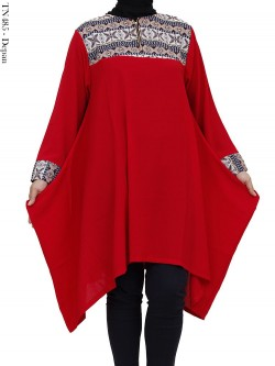 TN485 Tunik Bubble List Songket