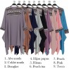 TN485 Atasan Tunik Babble List Batik Songket