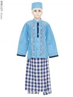 BML1237 (10-12) Baju Koko Anak Celana Sarung