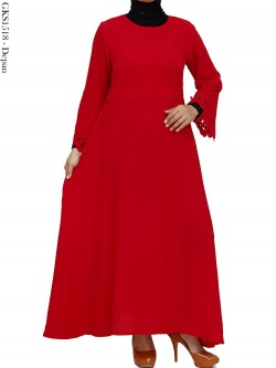 GKS1518 Gamis Maxi Bubble Pop Laser