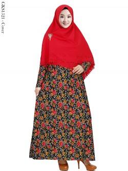 GKS1521 Gamis Syari Misby Hijab Wolfis Press