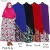 GKS1525 Gamis Syari Misby Hijab Syiria Press