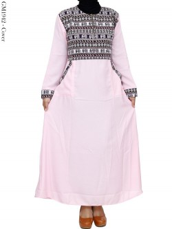 GM1942 Gamis Balotelly Mix Batik Songket