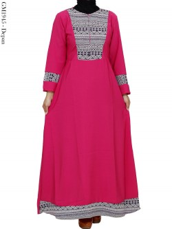 GM1945 Gamis Balotelly Songket