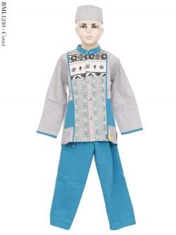 BML1240 (4-6) Baju Koko Anak Katun Bordir