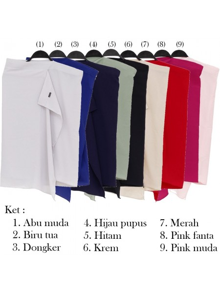 PM48 Pashmina Instan Bubble Pop