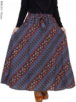 RM1254 Rok Katun Linen (rami) Batik Umbrella