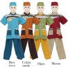 BML1243 (7-12) Baju Koko Anak Katun Bordir