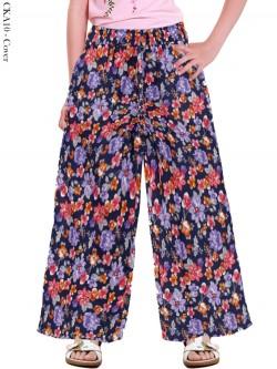 CKA10 Celana Kulot Anak Katun Linen
