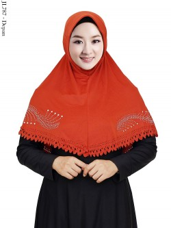 JL787 Jilbab Jersey Twiss Swarovski List Press