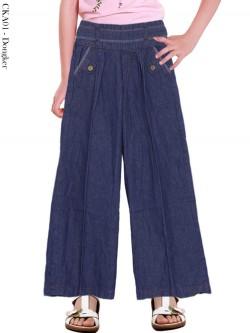 CKA01 Celana Kulot Jeans Anak
