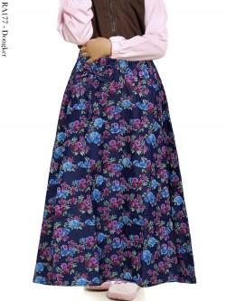 RA177 Rok Jeans Anak Umbrella Bunga