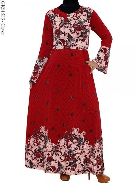 GKS1536 Gamis Jersey Payung Batik