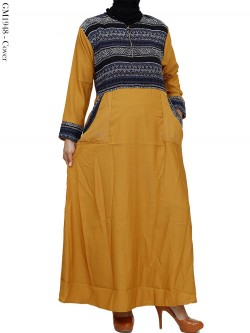 GM1948 Gamis Balotelly Mix Batik Songket