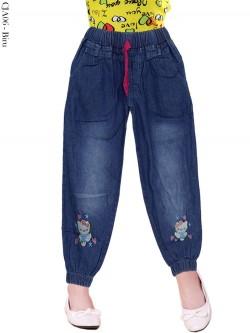 CJA06 Celana Jogger Jeans Anak Hellokitty