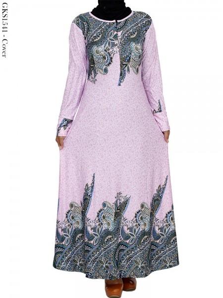GKS1541 Gamis Jersey Payung Batik