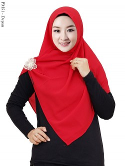 PM51 Pashmina Instan Bubble Bross