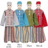 BML1250 (4-6) Baju Koko Anak Celana Sarung