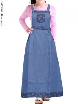 BMC1602 Overall Jeans Anak Tanggung