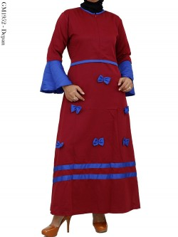 GM1952 Gamis Balotelly Mix Warna Pita