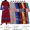 GM1952 Gamis Balotelly Mix Warna