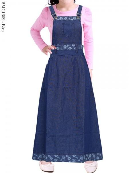 BMC1609 Overall Jeans Anak Tanggung
