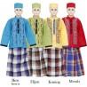 BML1262 (7-12) Baju Koko Anak Celana Sarung
