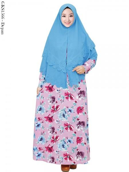 GKS1566 Gamis Syari Misby Hijab Syiria Press