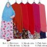 GKS1566 Gamis Syari Misby Hijab Bubble Susun