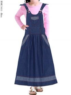 BMC1611 Overall Jeans Anak Tanggung